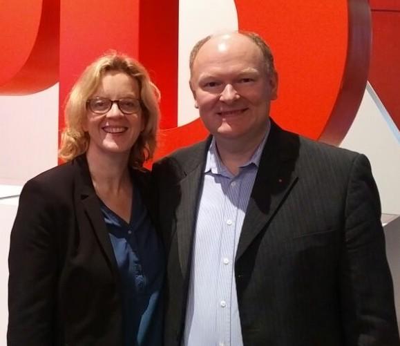 Der SPD-Kreisvorsitzende Dr. Bernd Vilsmeier gratulierte der bayerischen SPD-Landesvorsitzenden Natascha Kohnen MdL zur Wahl zur stellvertretenden SPD-Bundesvorsitzenden beim SPD-Parteitag in Berlin.