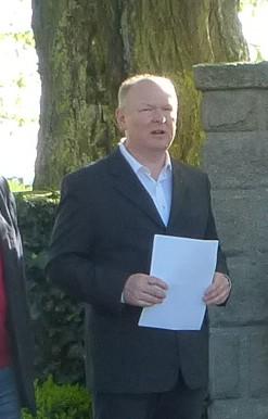 SPD-Kreisvorsitzender Dr. Bernd Vilsmeier erinnerte an 125 Jahre Bayern-SPD.